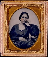 Daguerreotype of a Young Woman, ca. 1850, Gift of Marston Campbell.